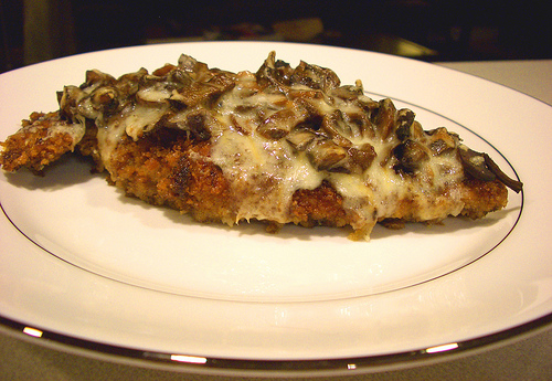 Chicken with PorciniMushrooms