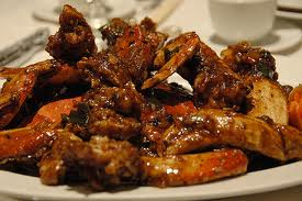 Baked Crab in Black BeanSauce