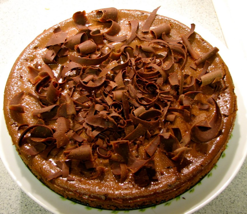 Amaretto Chocolate Cheesecake