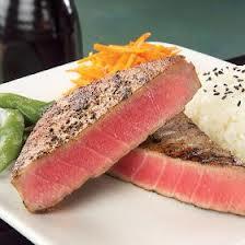 oven grilled tuna steak