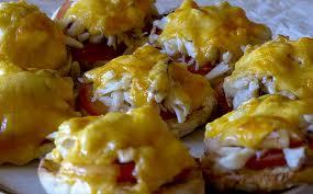 Hot Crab Sandwich