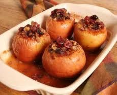 oven baked stuffed apples