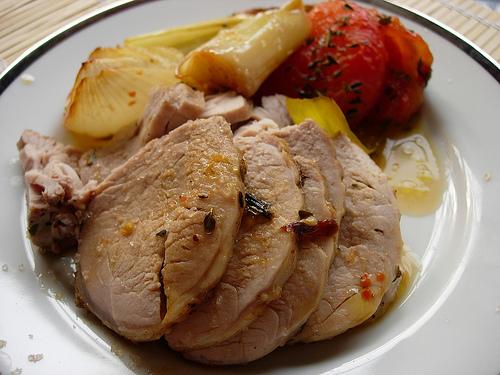 Herbed Roast Pork In Halogen Oven