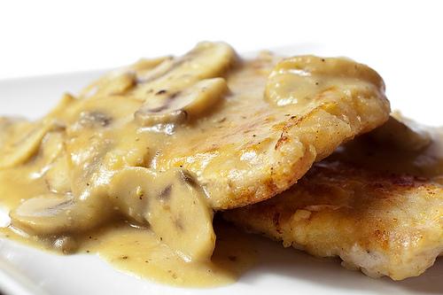 Slow Cooker Pork Chops with Mushroom Gravy