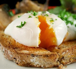 Poached Eggs(English Style)