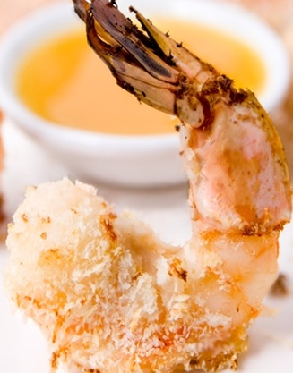 Baked Shrimp with Orange Sauce