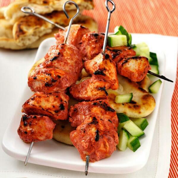Oven Baked Chicken TikkaKebabs
