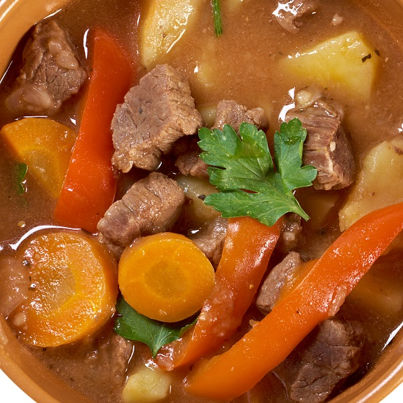 Slow Cooker Vegetable Beef StewRecipe